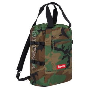 Supreme Tote Backpack Woodland Camo SS19 SOLD OUT